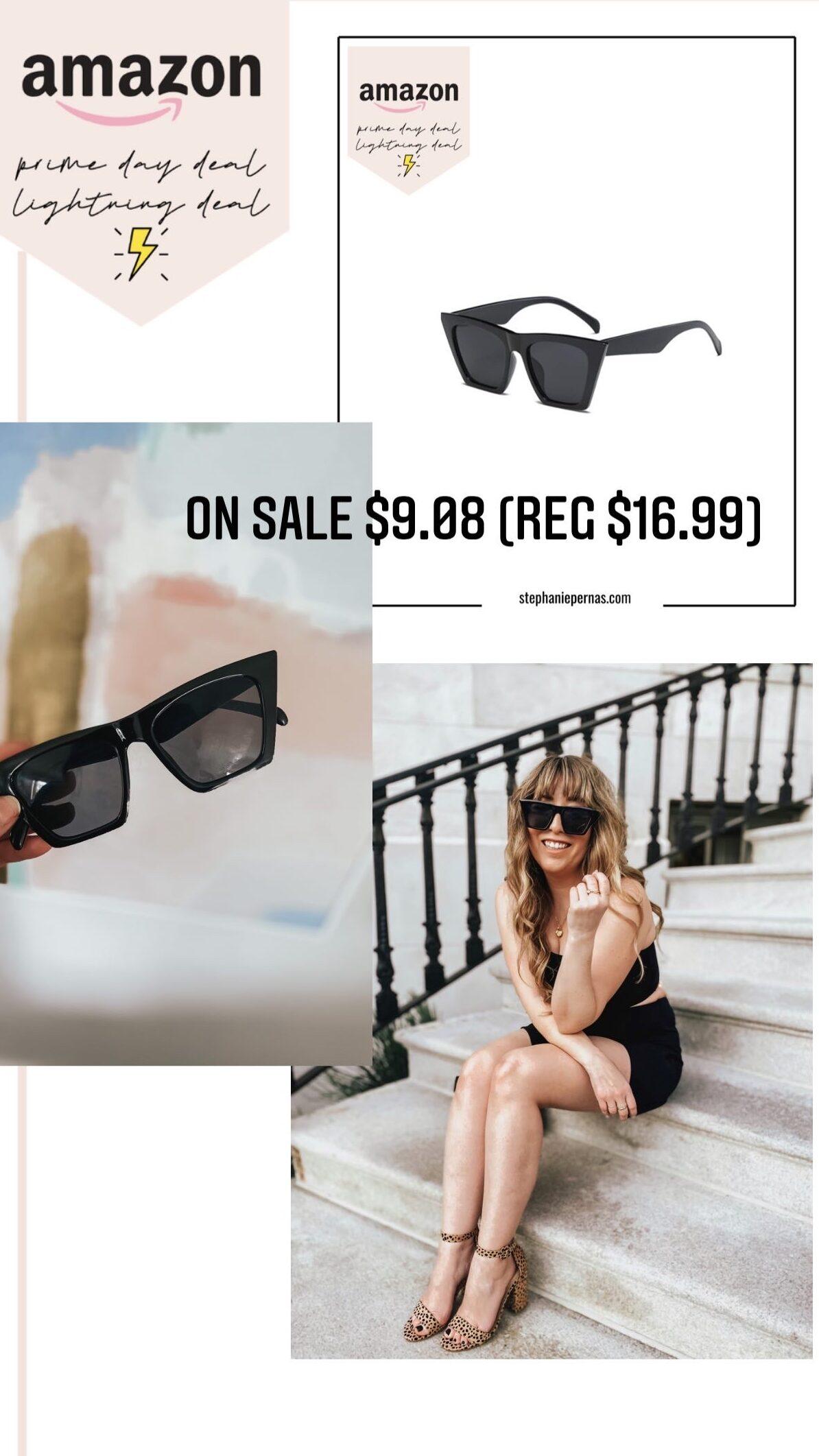 Amazon Prime Day Lightning Deals - Rectangular Sunglasses