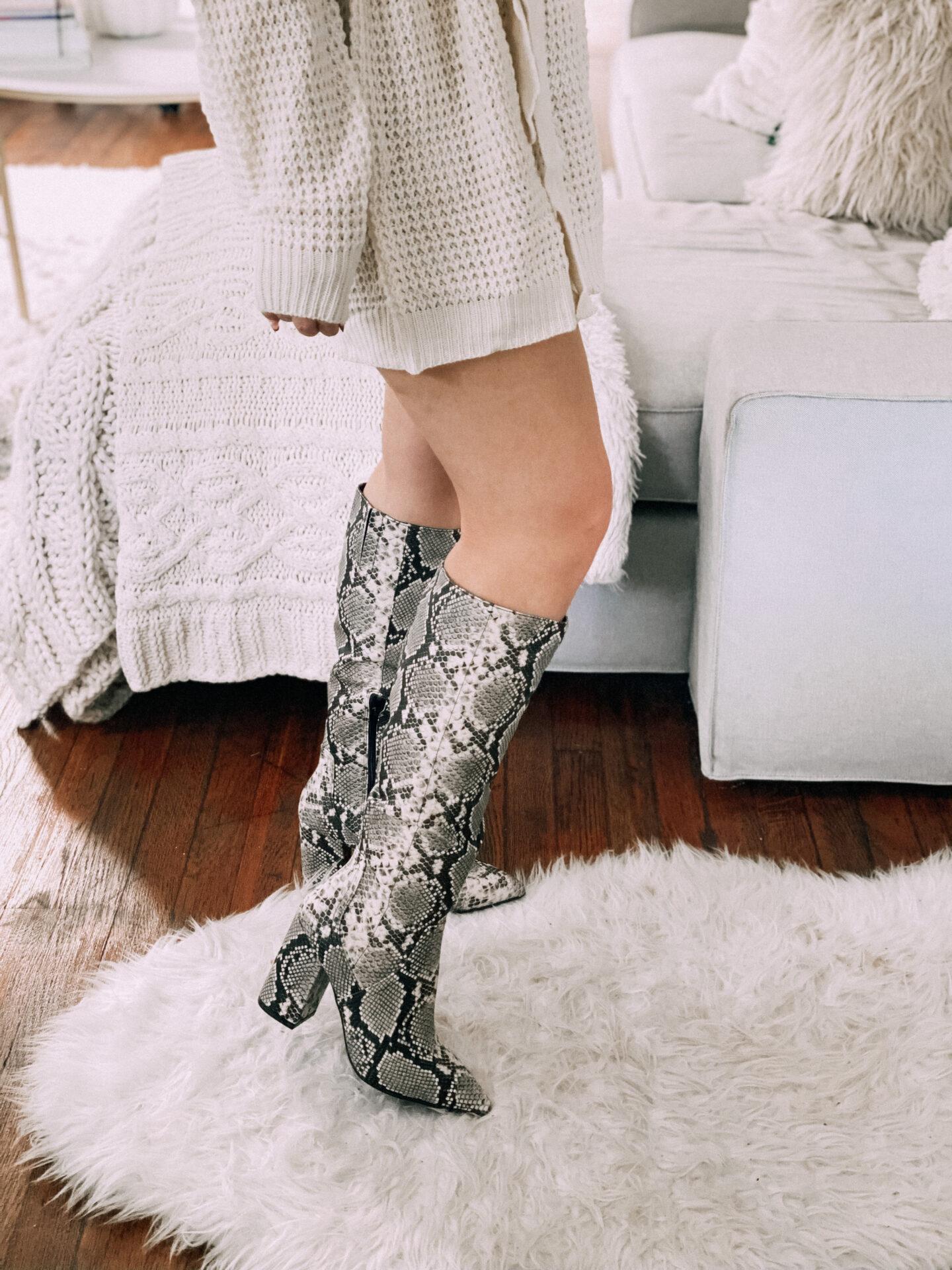 walmart snakeskin boots