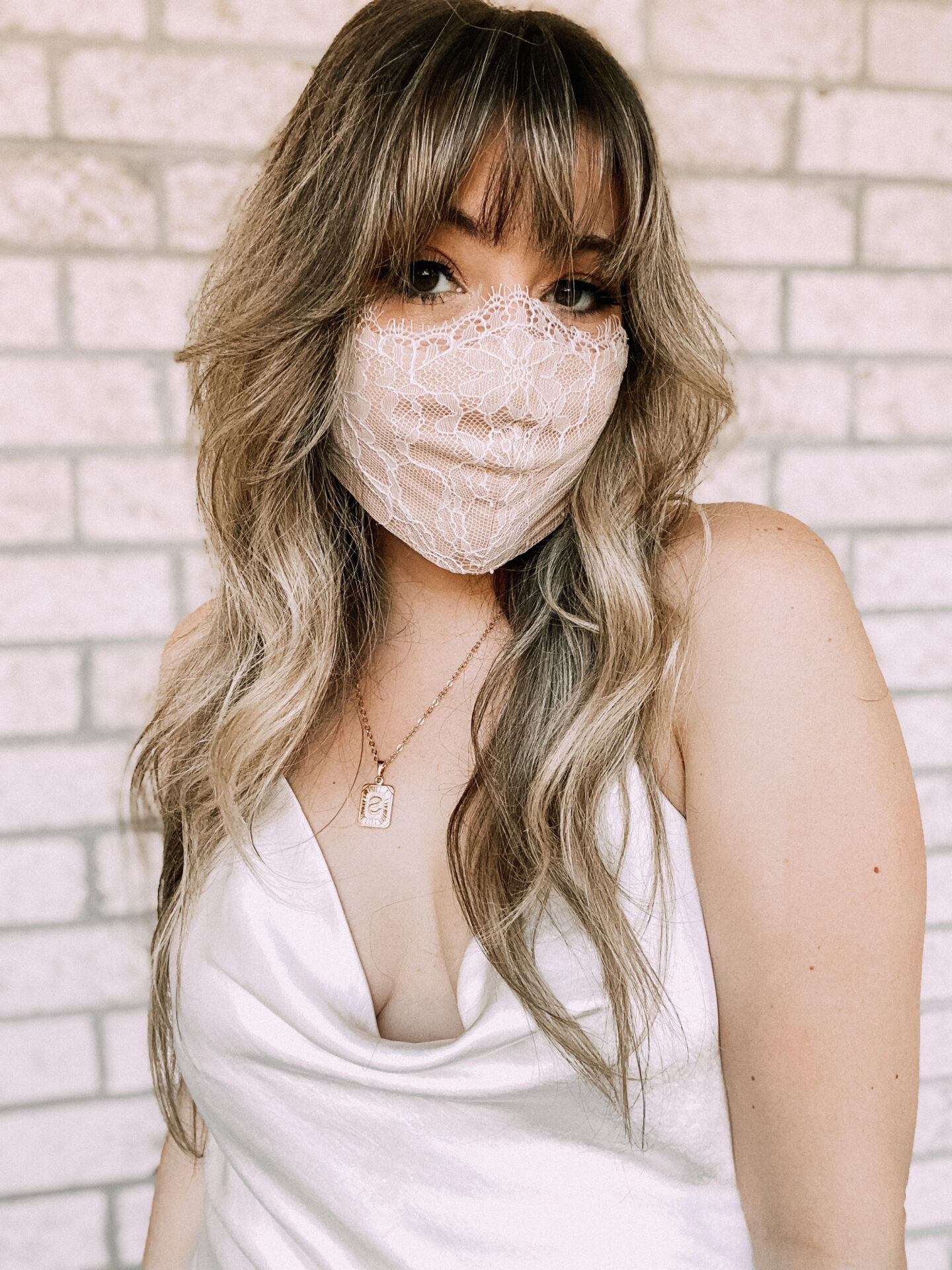 lace face mask for women