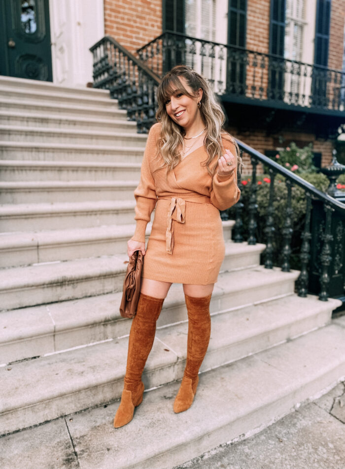 The Amazon sweater dress that everyone loves is a must-have for your fall and winter wardrobe!
