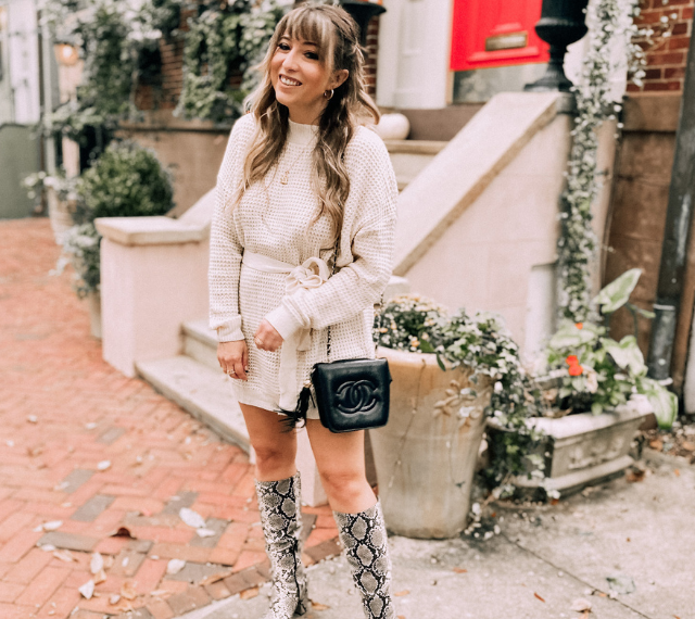 Cozy Chic Sweater Dresses from Amazon